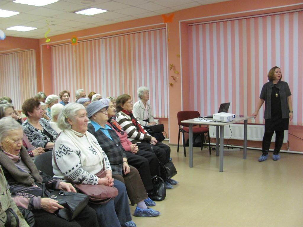 Лекция о здоровье пожилого чкловека - лектор Вунш НВ